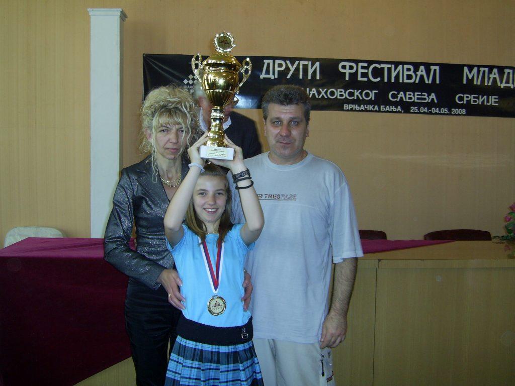 Stefana Milutinovic, chess player