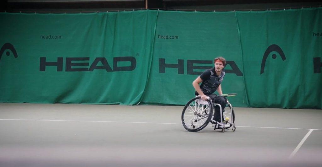 Nico Langmann, wheelchair tennis playerNico Langmann, wheelchair tennis player